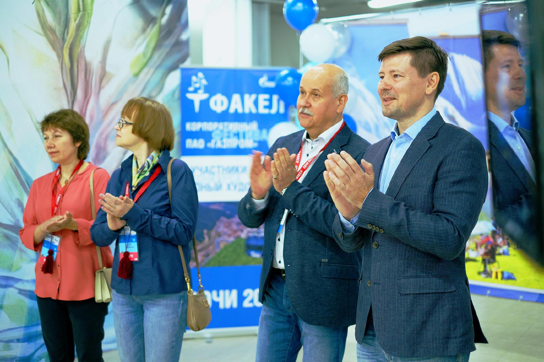 Члены жюри и почетные гости праздника открытия