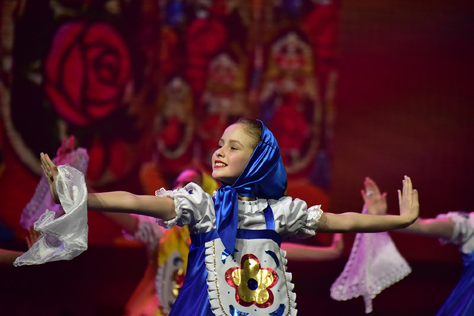 Международный «Вечер дружбы» на фестивале «Факел» ©Фото Антона Кардашова