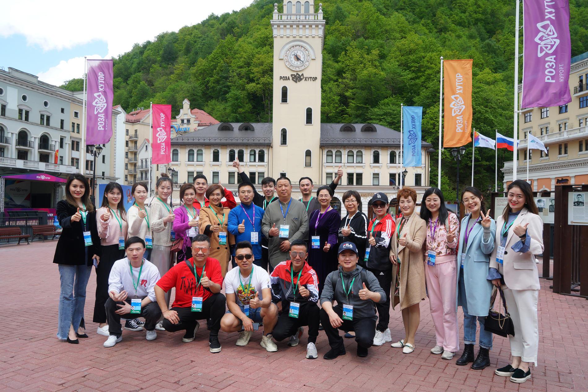 Участники фестиваля от Китайской Национальной Нефтегазовой Корпорации