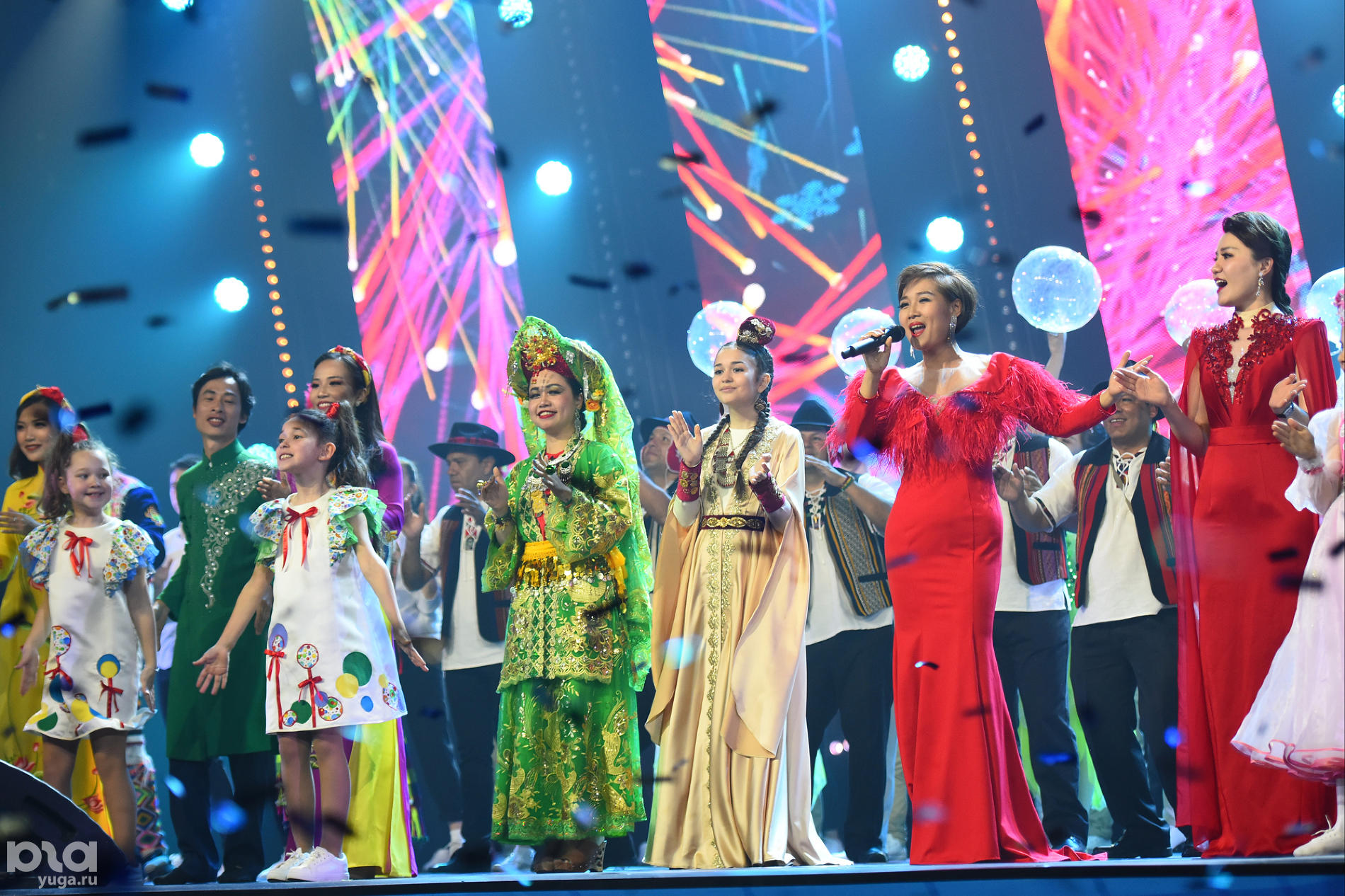 Гала-концерт закрытия фестиваля «Факел» в Сочи