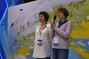 Слева направо: Ольга Лукомская, Марина Пугачева