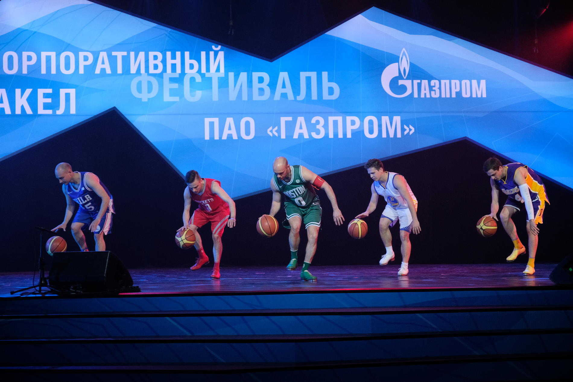 Команда «Степ-данс» («Газпром добыча Оренбург»)