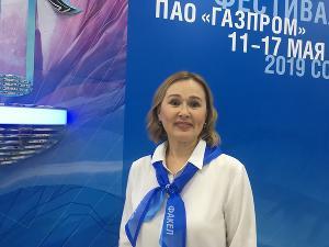 Ирина Лепешкина, руководитель делегации «Газпром трансгаз Югорск»