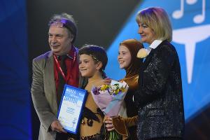 Церемония награждения участников фестиваля «Факел» ©Фото Елены Синеок, Юга.ру
