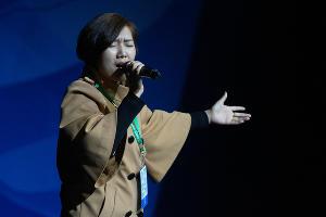 Участница фестиваля от Китайской Национальной Нефтегазовой Корпорации ©Фото пресс-службы фестиваля «Факел»